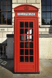 A red telephone box; 2010