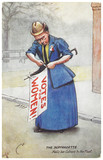 The Suffragette Nails her Colours to the Mast: c.1910