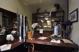 A view of the Milliner's shop in the Victorian Walk Gallery