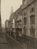 Old Houses in Wych Street: 1876