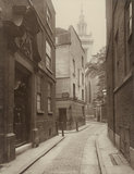 College Street, City of London: 1884