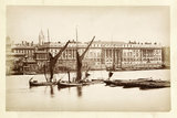 Custom House from the river: c.1875