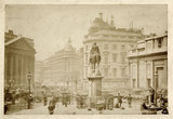 The Duke of Wellington Statue; c.1880