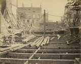 The construction of the Metropolitan District Railway; 1867