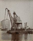 PLA floating grain elevator: c.1920