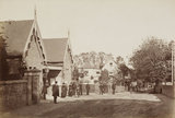 Winchmore Hill Station, c.1870