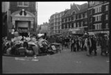 Rubbish during the dustmen's strike: 1979
