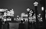 Piccadilly at night; 1960