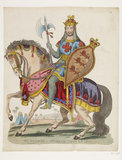 Mr Palmer as Richard Coeur de Lion: 1840