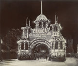 Canadian Arch' on Victoria Embankment; c 1915