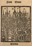 Woodcut from the Chronicle of England: 1497