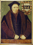 Portrait of Sir Rowland Hill, oil on panel: 1540-1560