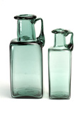Replica of Roman square glass bottles