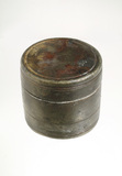 Roman metal canister