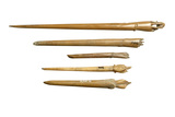 Selection of Roman bone hairpins