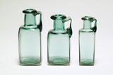 Replica of Roman square glass bottle