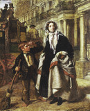 The Crossing Sweeper: 1858