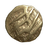 Obverse of Iron age gold coin
