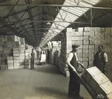 Storage at the Tilbury Docks: 1919