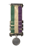 Reverse view of Suffragette Hunger Strike medal: 1912