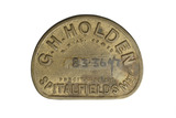 Spitalfields Market trade token: 20th century