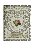 Valentine Card: 19th century