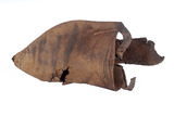 Leather shoe: late 11th- early 15th century