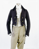 Men's dress coat: 19th century