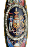 Detail of sword of honour presented to Lord Nelson: 1798-1800