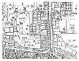 Moorfields map image made from the Copperplate Map: 1559