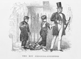 The boy crossing-sweepers: 1861