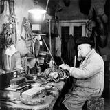 Edward Gerrard working: 1951