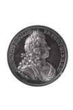 Obverse of coronation of George I medal: 1714