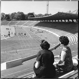 National Recreation Centre Stadium Arena terraces: 1964
