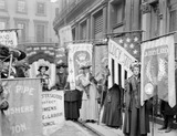The National Union of Women's Suffrage Societies demonstration: 1908