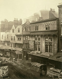 Old Houses in Aldgate: c.1875