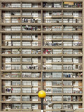 Facade of Trellick Tower, Cheltenham Estate: 1997