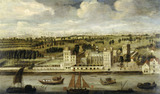 Lambeth Palace with a Distant View of the City: 18th century