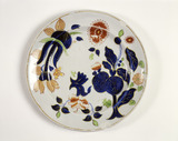 Davenport earthenware plate: 19th century