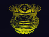 Finger bowl in Topaz glass: 1827