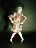 Grimaldi the Clown's costume: 19th century