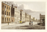 Cavendish Square, north side: 19th century