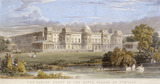The Garden Front of the King's Palace, at Pimlico: 1831