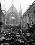 Bomb Damage at the Guildhall Great Hall: 1941