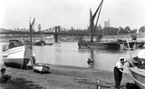 River Thames at Horseferry Stairs: 20th century