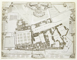 Survey and Ground Plot of the Royal Palace of Whitehall: 1747