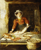 The Fish Stall: 19th century