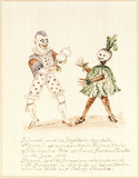 "Grimaldi and his ""pugilistic vegetable figure"": 1816"