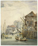 Wharf at Billingsgate: 18th - 19th century