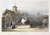 The Zoological Gardens, Regent's Park: 1835